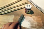 床板のサンプル作り