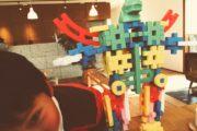 ブロックでロボット