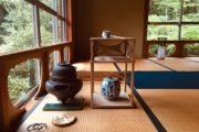 和ろうそく茶会と日舞