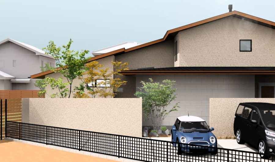 「街中の風景を創る家」完成見学会開催のお知らせ